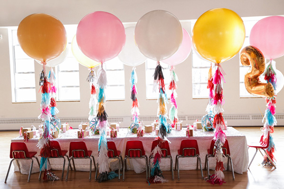 Girls Second Birthday Party Ideas Geronimo Balloons